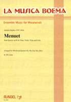 Menuet from Quartet op. 98